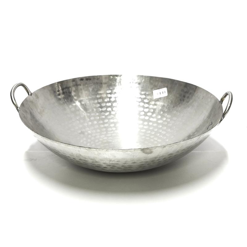 066300561.2厘不锈钢炒锅1.4尺000520